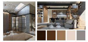 Определение цвета в дизайне интерьера