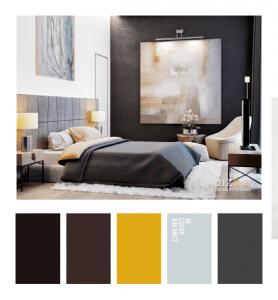 Подбор цвета в дизайне интерьера
