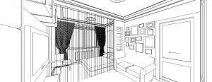 Проектирование интерьера