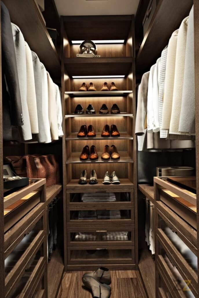 Дизайн гардероба в квартире
