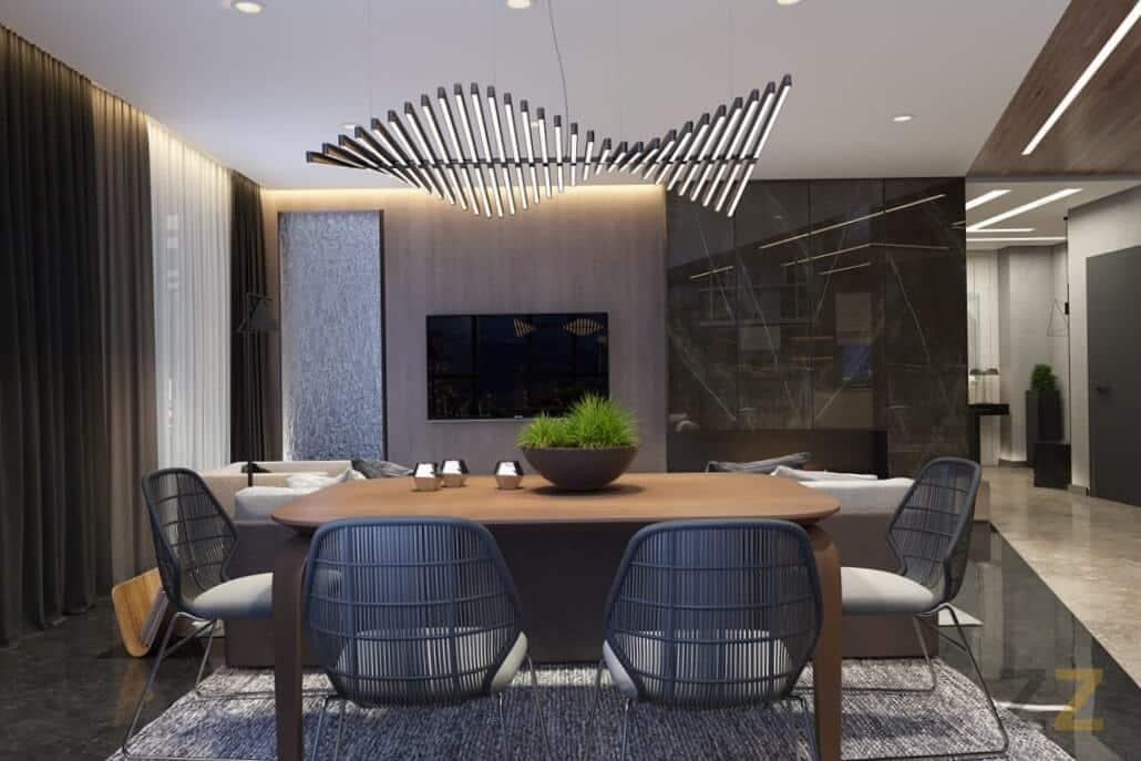 Дизайн интерьера гостиной квартира Москва