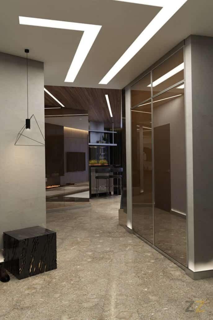 Дизайн интерьера прихожей квартира Москва