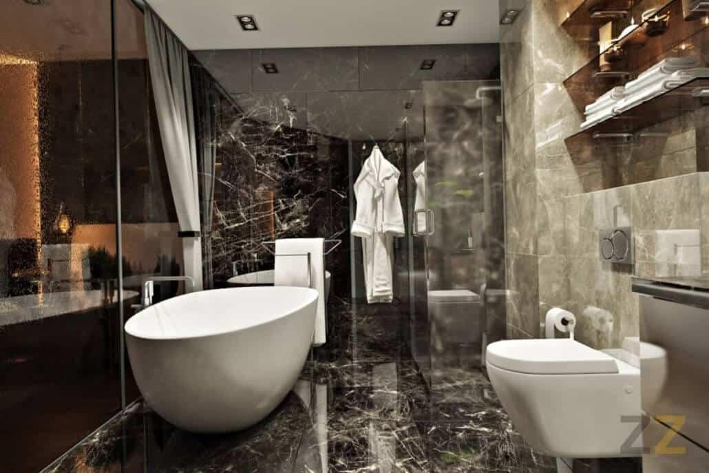 Дизайн интерьера санузла в квартире Москва