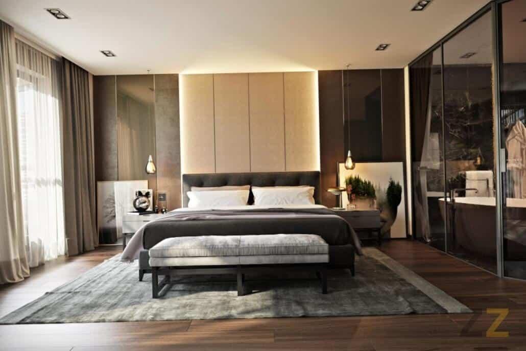 Дизайн интерьера спальни в квартире Москва